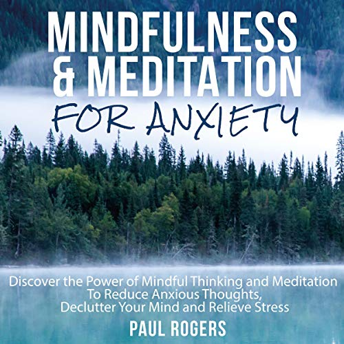 Mindfulness and Meditation for Anxiety cover art