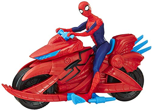 Product Image of the Spider-Man Marvel Figure with Cycle