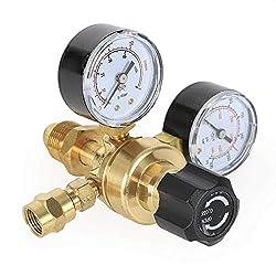powerful CO2 argon flow meter, vacuum gauge, CGA580 gas welding equipment, TigMIG welding accessories …