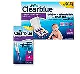Clearblue Kinderwunsch Fertilitätsmonitor und Clearblue 20 Fertilitätstests und 4 Schwangerschaftstests