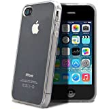 itronik Hülle kompatibel mit iPhone 4 4S TPU Hülle Schutzhülle Crystal Hülle Durchsichtig Klar Silikon transparent