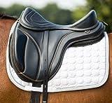 KLS New Free Max Leather Pupanels Saddle - Black | Horse Equestrian