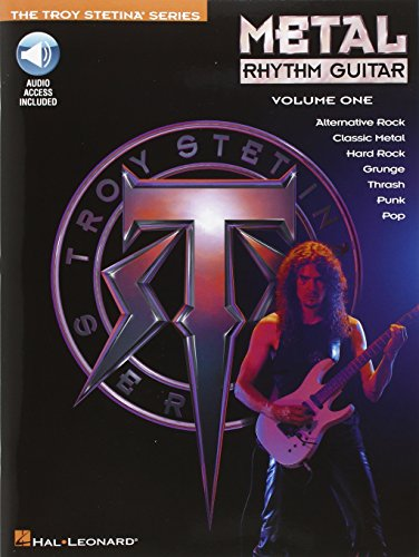 Metal Rhythm Guitar Volume 1 Book/Cd -Album-: Noten, CD für Gitarre (Troy Stetina)