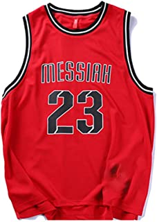 Simple 23rd Basketball Vest Tide Short Sleeve/Red/Comfortable Soft/Competition, Training, Daily
