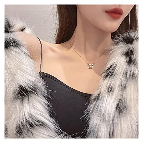 YUANLIN Colgante de Coche Collar de Oso 2021 Femenino Luz de