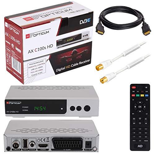 HB Digital Set Opticum AX C100 HD Receptor para televisión por cable...