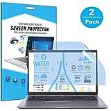 FiiMoo 17.3' Laptop Anti luz Azul Protector de Pantalla, Filtro Anti Deslumbrante Protección para Los Ojos Protector de Pantalla para 17.3 Inch Ordenador Portátil (2 Pack 16:9)