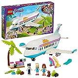 LEGO Friends L'Aereo di Heartlake City, Giocattolo con 3 Mini Bamboline e Tanti Accessori, Costruzioni per Bambini, 41429