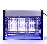 Asoway Lámpara Antimosquitos Eléctrico, Mosquito Lámpara Trampa Mata Mosquitos LED UV 16W Trampas para Insectos Matar Mosquitos, Moscas, Polillas para Cocina, Sala de Estar, habitación, despacho