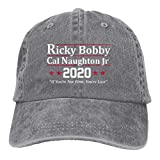 Ricky Bobby Cal Naughton Jr 2020 Election Soft Casquette Cap Vintage Adjustable Baseball Caps Gray