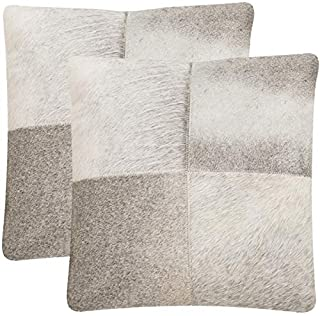Safavieh Collection Levar Grey Throw Pillows (18