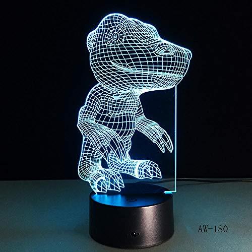 3D Illusionslampe LED Nachtlicht Digital Monster Agumon Figur Visuelle Nachtlicht Anime Digimon Tisch für Kinder Schlafzimmer Beleuchtung Dekoration Geschenk Aw-180