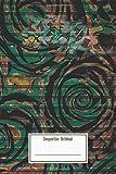 Composition Notebook: Graffiti Rose Art On A Green Metal Shutter Digital Art Workbook for Teens Kids Students Girls for Home School College