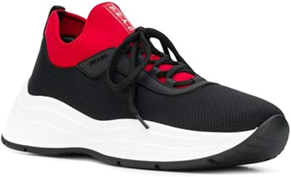 Prada,scarpe sneakers per uomo,in pelle e tessuto PRADA 4E3406 Sneakers