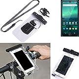K-S-Trade® Fahrrad Halterung Für Nokia 1.3 Handy Halter Lenkstange Fahrradhalter Fahrradhalterung...