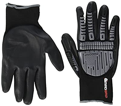 MadGrip Pro Palm Utility Gloves, Medium, Black