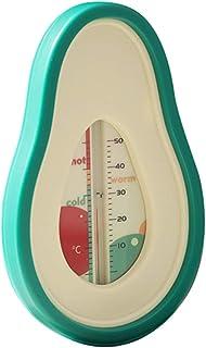 TOYANDONA Baby Bath Thermometer Cartoon Avocado Floating Thermometer Water Bathtubs Thermometer Baby Bath Toys
