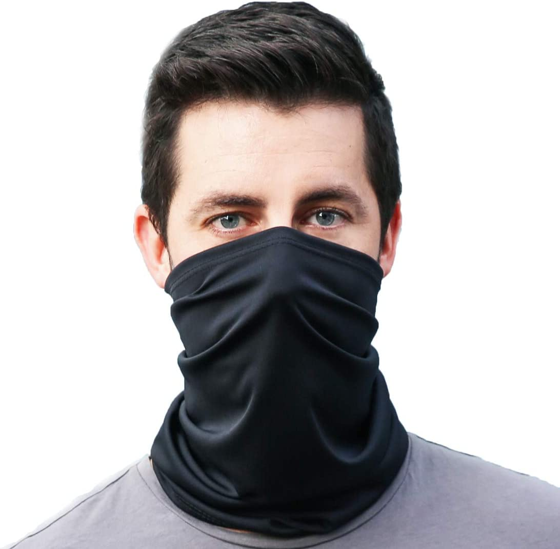 Gaiter King, USA Made Neck Gaiter - Stylish Cooling Face Mask Made from 100% Breathable Polyester Made in California – Moisture Wicking Facial Protection from Wind, Cold