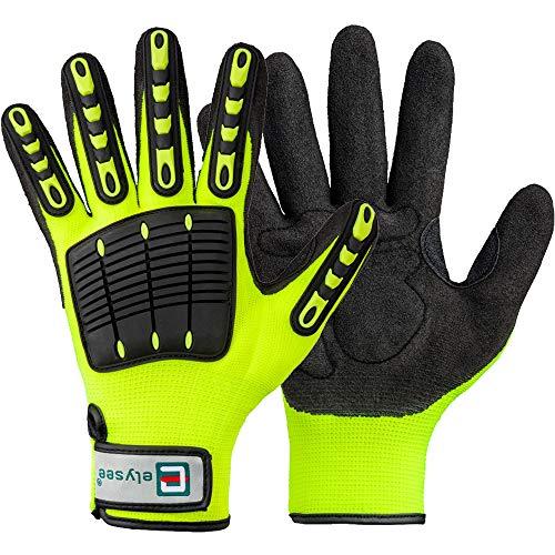 thl Handschuhe gelb Feuerwehr Rettungsdienst TOP Grip Feuerwehrhandschuhe THW(9 / L)