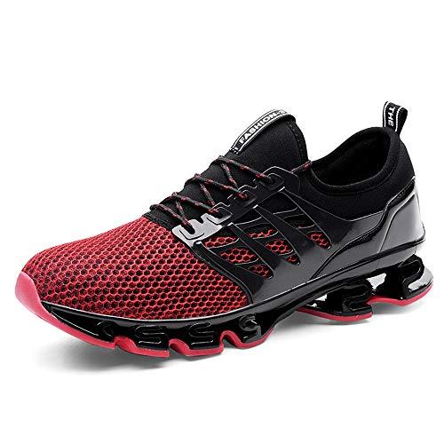 Cómodo Zapatos para Correr Deportes en Montaña Asfalto, Espada Zapatillas de Running Deportivos Sneakers para Hombre Unisex