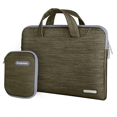 alliswell Laptop Bag in denim con accessori pacchetto impermeabile