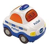 VTech Tut Tut 80-119904 Polizei - Coche de polica de plstico con luz y sonido (versión en alemán)