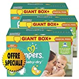 Couches Pampers - Taille 5 active baby dry - 407 couches bébé