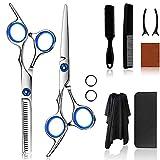 Best Hair Scissors - Hair Cutting Scissors Set 11 Pcs, Professional Hair Review