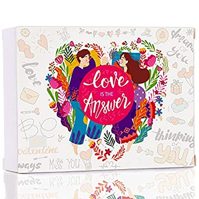 Love is The AnswerCouplesGame, an Adults Card Games for Couples- Deep and Meaningful Conversations Starters- Caravan Night Camping Games, Make Planning Date Night Way Easier