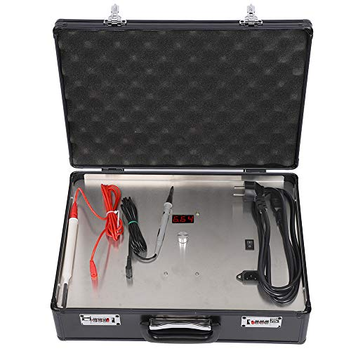Lv. life Beschichtungsmaschine, Digital Display Schmuck Galvanisierstift Werkzeugmaschine für Uhren Brillen(EU-Stecker)