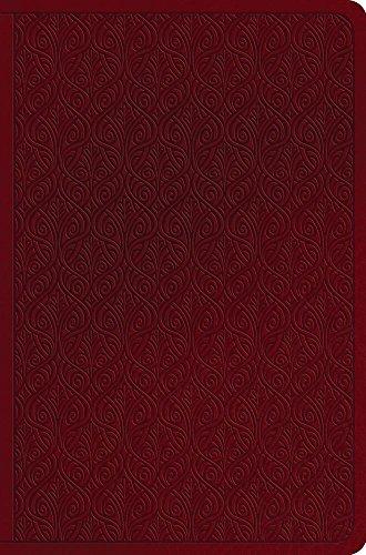 ESV Value Compact Bible (TruTone, Ruby, Vine Design)