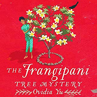 The Frangipani Tree Mystery audiobook cover art