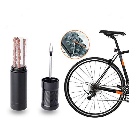Ryoizen Autoreifen-Reparatur Set, Tool Puncture Plug Repair Kit Auto Tubeless Tire Tyre Repair Kit Praktische Handwerkzeuge Auto-Zubehör für Auto LKW Motorbike Tubeless Reifen