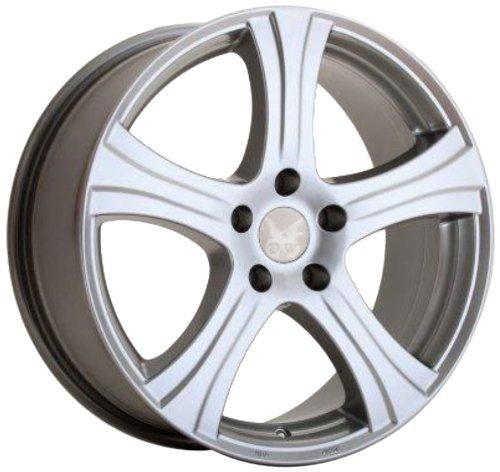 D&W  Barcelona silber 8x18 5/114 ET35 Toyota Auris E15J, E15UT Alu felgen