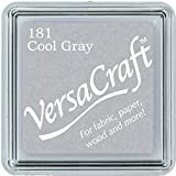 Versacraft VKS181 Cojín de estampilla Gris (Cool Grey)