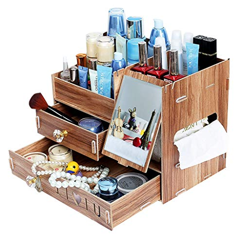 Boîte de rangement cosmétique De Bureau Boîte De Rangement pour Bijoux À Tiroir De Mode Boîte De Rangement Multicouche pour Table De Lavage (Size : 31x17x20cm)