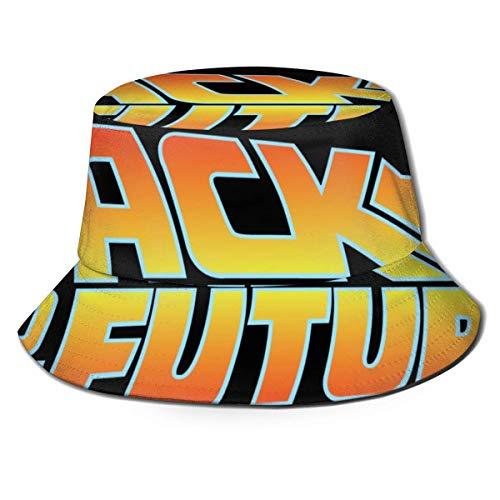 GGdjst Bucket Hats, Zurück in die Zukunft Fisherman Beanie Black Elegant One Size Fisherman\'s Hat für Männer Frauen