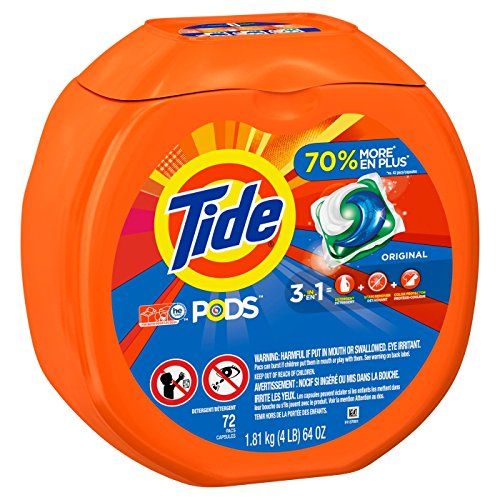 Tide Pods Laundry Detergent Pacs Original - 72ct