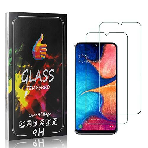 Displayschutzfolie Kompatibel mit Galaxy A10E, Bear Village 9H Härte Schutzfolie aus Gehärtetem Glas für Samsung Galaxy A10E, Keine Luftblasen Schutzfolie, 2 Stück