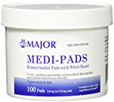 Major Medi-Pads 100 Ct. Jar (Compare to Tucks)