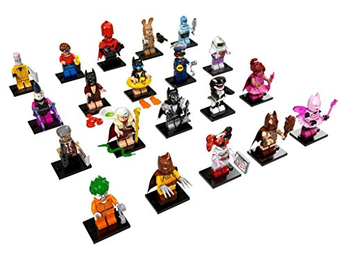 LEGO The Batman Movie Collectible Minifigures Complete Set of 20 (71017)