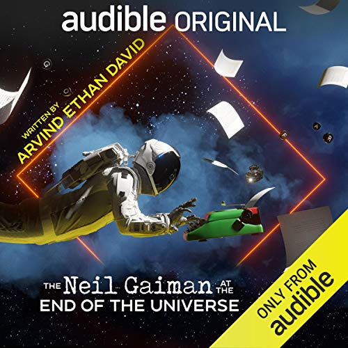 The Neil Gaiman at the End of the Universe cover art