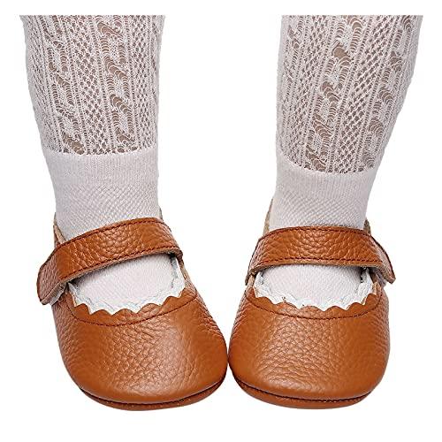 Babyschuhe Lauflernschuhe Mädchen Krabbelschuhe Jungen Kinder Schuhe Leder Kleinkind Schuhe Weicher Boden Rutschfest Baby Schuhe Kindersandale Flacheschuhe
