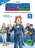 Gemeinsam lernen & spielen Band 1 (+Online-Access) : für Bläserklasse (Blasorchester) Partitur