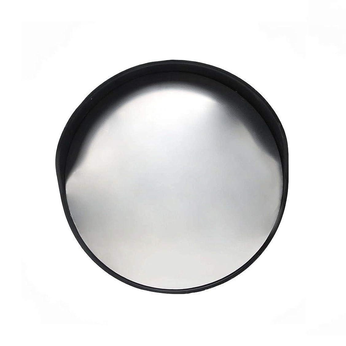 流出エジプトアームストロングブラックトラフィックミラー、30CM / 45CM / 60CMプラスチック広角レンズ耐衝撃性変形していない凸面鏡屋内ブラインドスポットミラー(色:黒、サイズ:45CM)