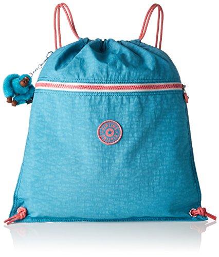 Kipling Supertaboo Kinder-Sporttasche, 45 cm, 15 L, Bright Aqua C