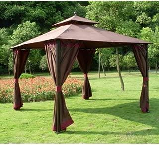 Garden Winds Simona 10 x 10 Gazebo Replacement Canopy Top Cover - RipLock 350