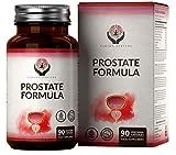 EN Suplemento para la Prostata 90 Capsulas Veganas | 8 Ingredientes Activos: Saw Palmetto, Pygeum y Zinc | Serenoa Repens para Apoyar la Salud y el Tracto Urinario Saludable de los Hombres | Sin OGM