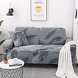 AYWJ Funda De Sofá Elástica con Diseño Elegante Universal Funda Sofá Antideslizante Protector Cubierta De Muebles (Color : Color 25, Size : AA 190-230cm)