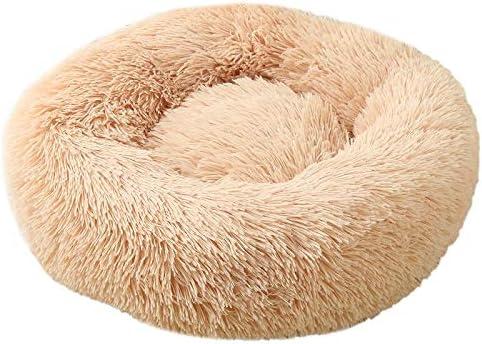 WHEEJE Topics on TV Super Soft 5% OFF Pet Bed Kennel Round Winter Dog Warm Sleep
